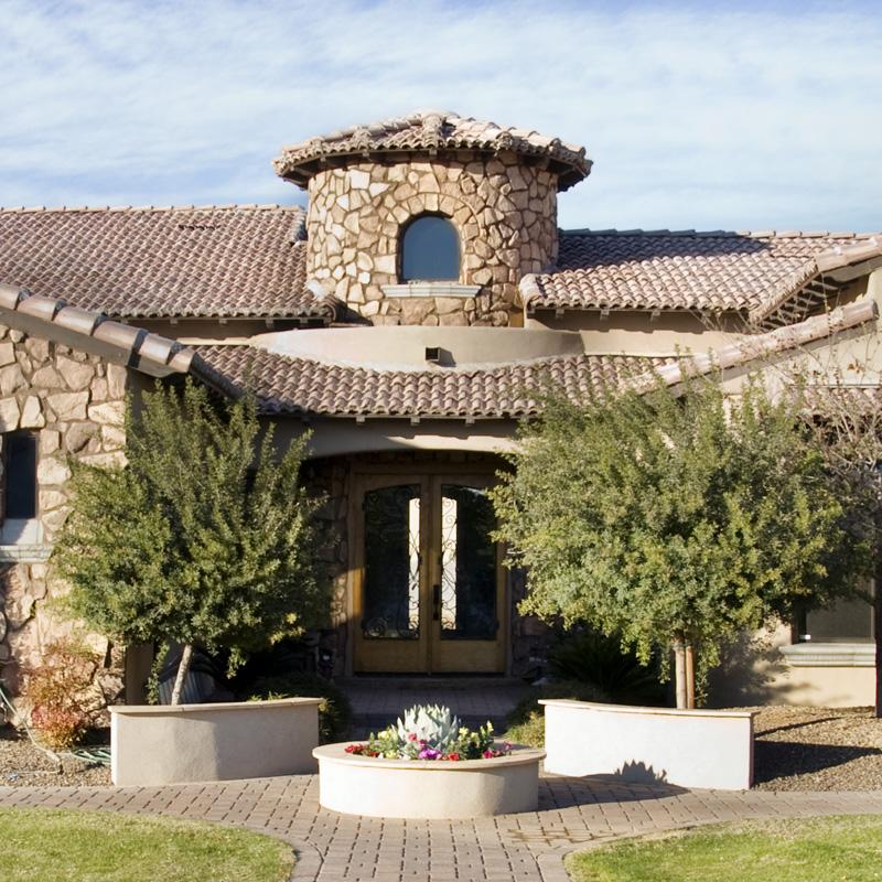 Custom home in Arizona